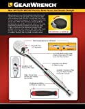 """GEARWRENCH 1/2"""" Drive 84 Tooth Non-Quick Release"""
