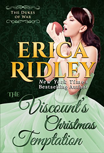The Viscount's Christmas Temptation (Dukes of War Book 1) by [Ridley, Erica]