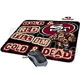 San Francisco 49ers Mouse Pad San Francisco 49ers Mousepad, Sold By Cus2mize 0723736674788