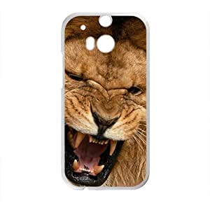 Lions Big Mouth High Quality Custom Protective Phone Case Cove For HTC M8 by mcsharks