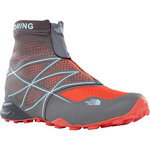 The North Face M Ultra MT Winter, Stivali da Escursionismo Uomo Grigio/Arancione (Drk Gull Gry/Valencia Org)