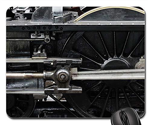 Mouse Pads - Locomotive Steam Engine Wheel Piston Machine