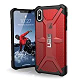 URBAN ARMOR GEAR UAG iPhone Xs Max [6.5-inch Screen] Plasma Feather-Light Rugged [Magma] Military Drop Tested iPhone Case