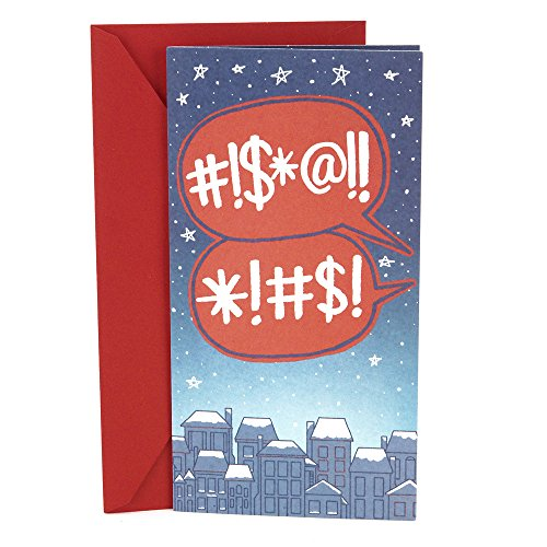 Hallmark Pop Up Funny Christmas Money or Gift Card Holder (Stuck Santa)
