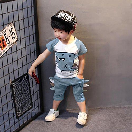 90893f183 Venta caliente 2018 FAMILIZO Ropa Conjuntos Niños Niños Pequeños Camisetas  Niño Manga Corta Camisetas Niño Tie