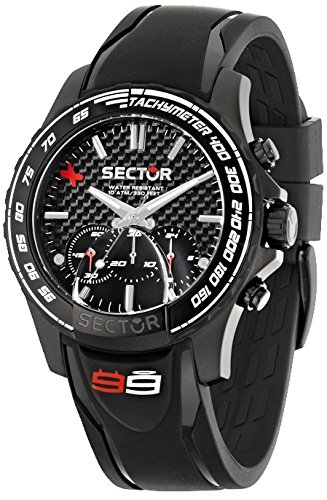 Sector R3271677001 - Reloj con correa de goma, para hombre, color negro: Amazon.es: Relojes