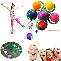 Xinzhi Tobillo Skip Ball - Juguete de Ejercicios para Saltar en el Patio de recreo para niños