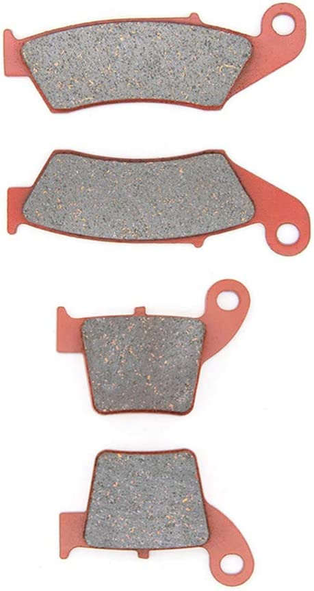 MEXITAL One pair Ceramic Motorbike Brake Pads Front for CR 125 R /// CR 250 R/  02-17 04-17 // CRF 450 R//X/  02-07 // CRF 250 R//X/