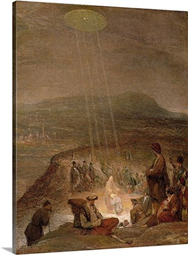 Baptism of Christ, c.1710 (Oil on Canvas) Gallery-Wrapped Canvas