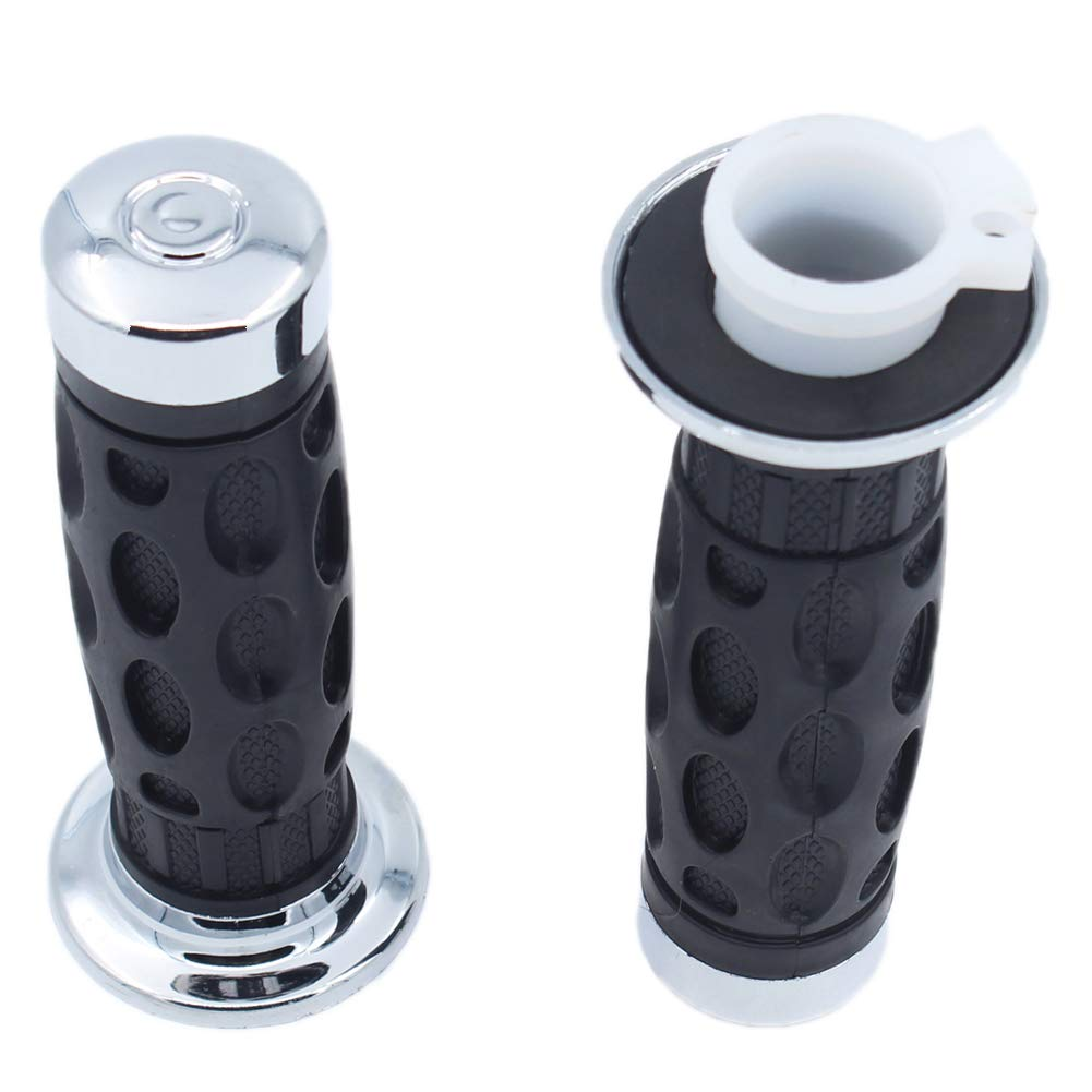 QAZAKY Twist Throttle Accelerator Handle Bar Grip Cable for GY6 Pit Dirt Pocket Bike Scooter ATV Quad Buggy Moped 50cc 80cc 90cc 110cc 125cc 150cc 139QMB 1P39QMB 152QMI 157QMJ 7//8 22mm Handlebar