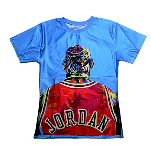 Catamaran Unisex Star jordan shirts printed 3d tops T Shirts (L) by Catamaran