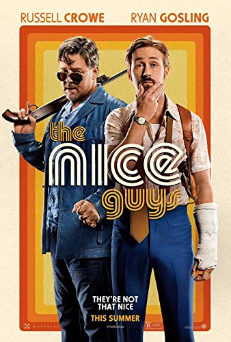 The Nice Guys Movie Poster 27 x 40 Style B Unframed by Movie Posters ()