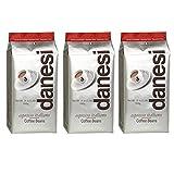 caffe italiano espresso - Danesi Caffe Espresso Italiano Classic Coffee Beans - 3 x 2.2 lb bags