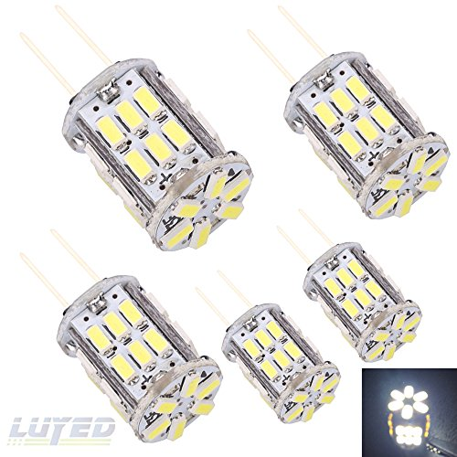 LUYED 5 X Super Bright 3014 30-EX Chipsets G4 Led Bulbs ...