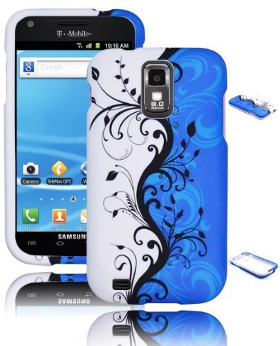 Bastex Snap On Case for Samsung Galaxy S2 II T989 - Blue ...