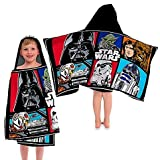50'' L x 25'' W Star Wars Classic Character Cotton Hooded Towel