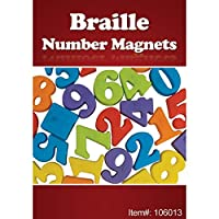 Braille Number Magnets - 27 Pieces