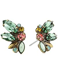 "Sorrelli ""Gem Pop"" Simplicity Cluster Post Stud Earrings"