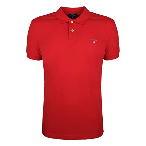GANT Polo Pique Fitted - 2202 / The Original Fitted Pique SS - S ...