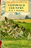 Front cover for the book Cotswold Country by Harold John Massingham
