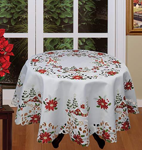 Creative Linens Holiday Christmas Tablecloth 68