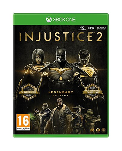 Injustice 2 Legendary Edition (Xbox One) UK IMPORT REGION FREE (Superman Xbox One Game)