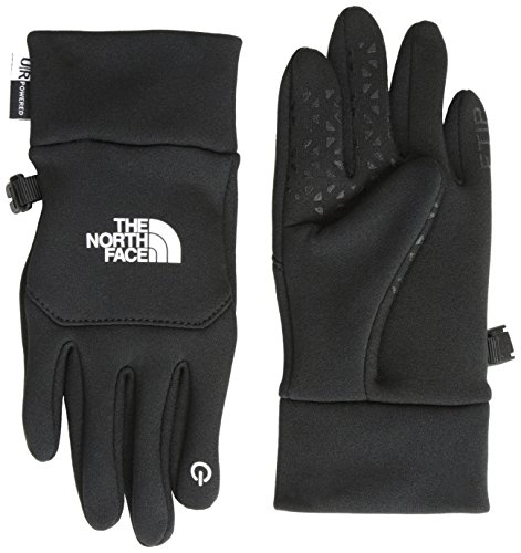 The North Face Kids Unisex Youth Etip Glove (Big Kids) TNF Black MD (10/12 Big Kids) (Ski The Glove Face North)