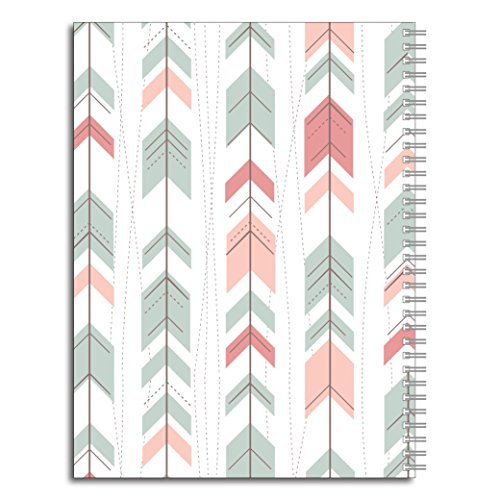 A Way of Life Inspirational Personalized Spiral Notebook/Journal, 120 Wide Ruled or Checklist Pages, durable laminated cover, and wire-o spiral. 8.5x11 | 5.5x8.5 | Made in the USA Photo #2