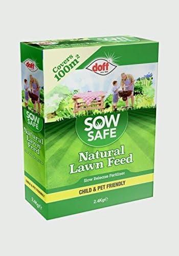 DOFF Sow Safe - Césped Natural (2, 4 kg): Amazon.es: Jardín