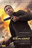 The Equalizer 2 Movie Poster Limited Print Photo Denzel Washington Melissa Leo Size 11x17#1