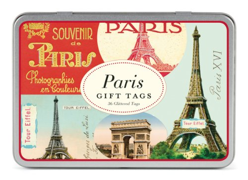 - Cavallini Gift Tags Paris, 36 Assorted Gift Tags