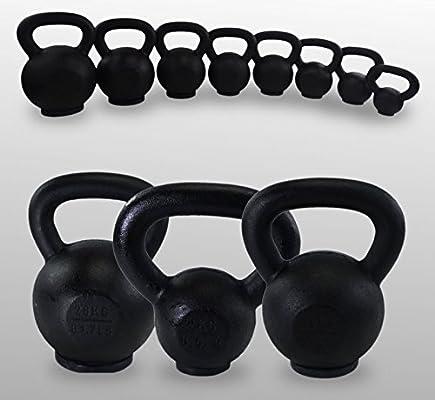 Hierro fundido pesas rusas BodyRip 4 kg 8 kg 12 kg 16 kg 20 kg 24 kg 28 kg 32 kg: Amazon.es: Deportes y aire libre
