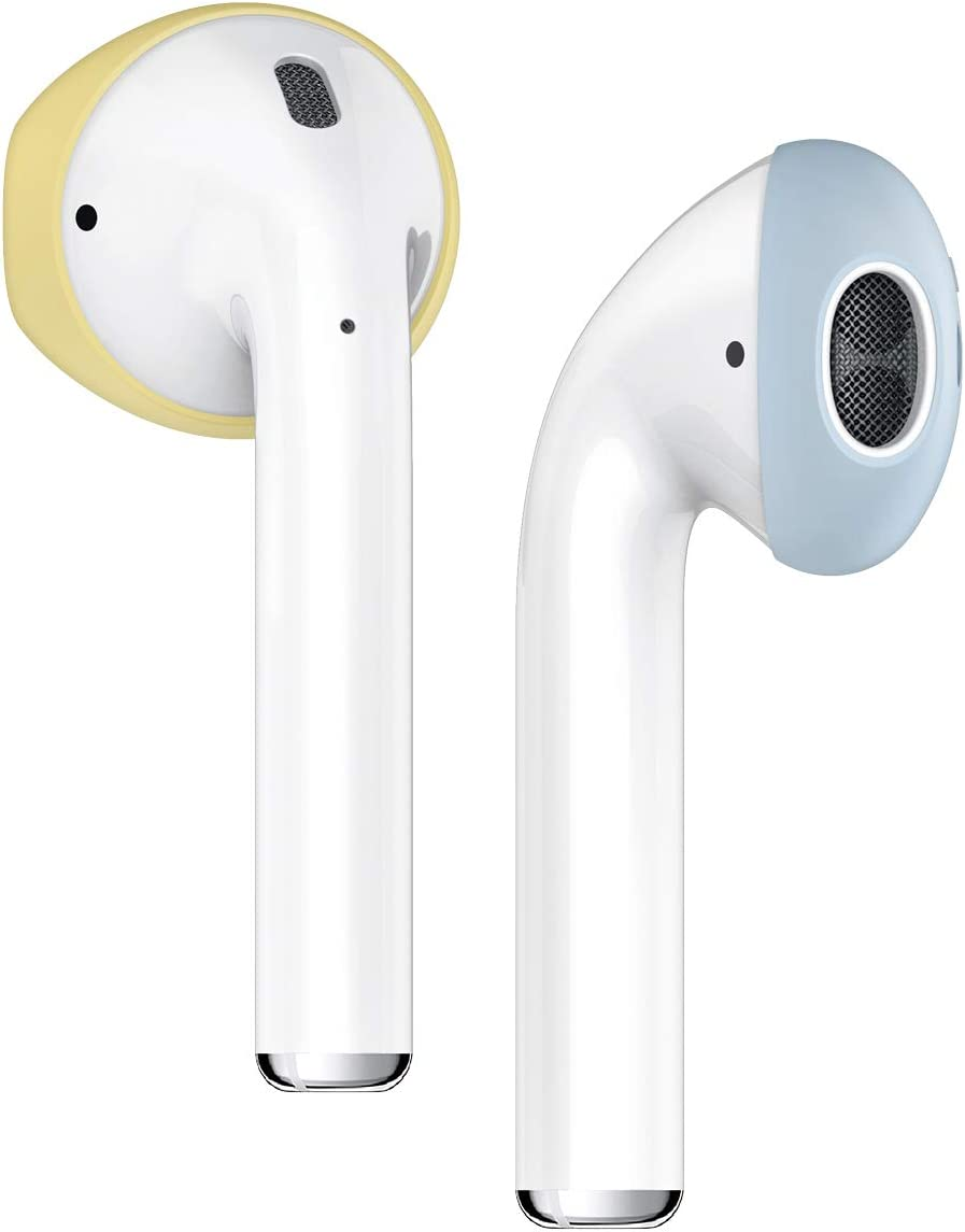 airpods 1 and 2 side by side