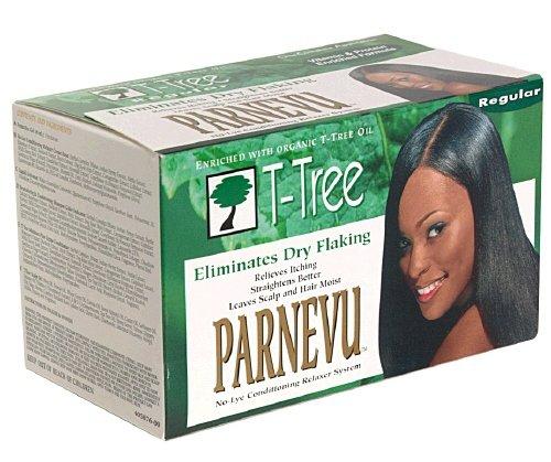 (DDI Parneau T-Tree No Lye Relaxer Regular- Case of 6)