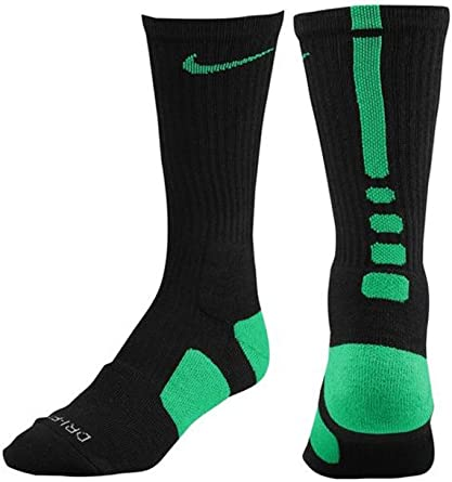 Parlamento Adolescente vistazo  Amazon.com : Nike Elite Socks (large, Green/Black) : Athletic Socks :  Clothing