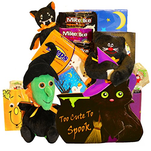 Too Cute To Spook Halloween Chocolate and Candy Gift Basket
