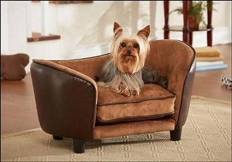 Lujo ultra Plush Snuggle perro/perro/mascota cama en Chocolate Marrón: Amazon.es: Productos para mascotas
