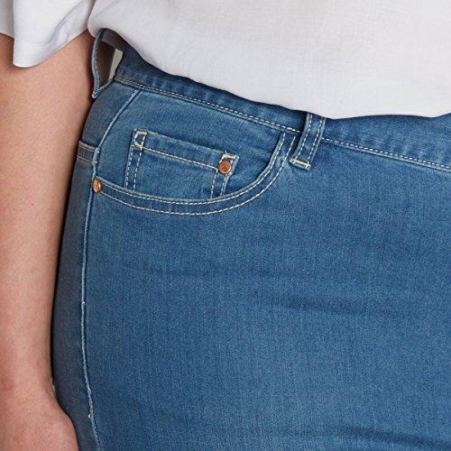 Jeans Stone Donna Double Castaluna Bootcut Blu Z5w81Tq6x