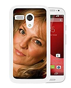 Beautiful Designed Cover Case With Claire Martin Girl Blonde Face Eyes (2) For Motorola Moto G Phone Case