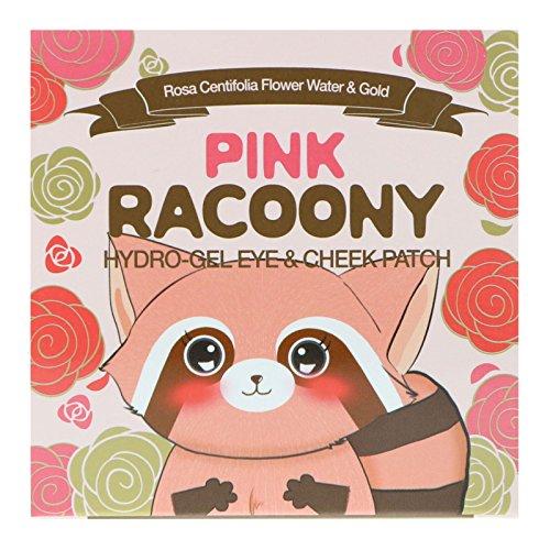 Secret Key Pink Racoony Hydro Gel Eye & Cheek Patch, 60 Patches