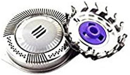 sohv Dual Precision cabezales de afeitado accesorios de recambio para PHILIPS Norelco HQ8 Sensotec Spectra, 3 unidades.: Amazon.es: Salud y cuidado personal