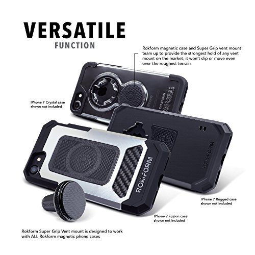Rokform-Aluminum-Super-Grip-Universal-Magnetic-Air-Vent-Car-Mount-Holder-for-iPhone-Galaxy-and-other-Smartphones