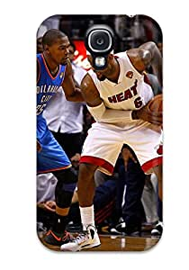 Hot oklahoma city thunder basketball nba miami heat NBA Sports & Colleges colorful Samsung Galaxy S4 cases 3199742K696988784