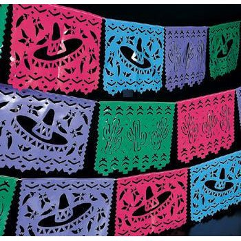Fun Express Plastic Mexican Cutout