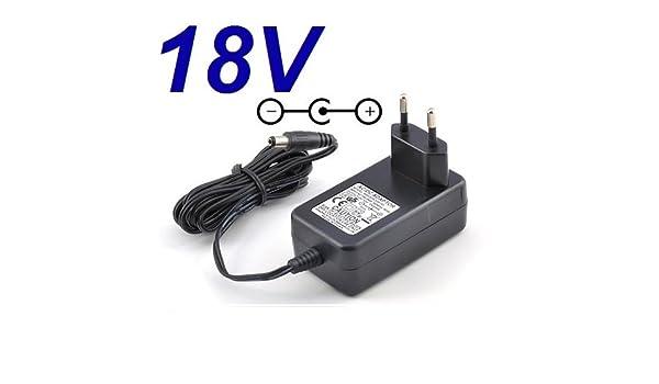 Cargador Corriente 18V Reemplazo Destornillador Electrico BLACK ...