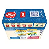 Nestlé Cerelac Fortified Baby Cereal with Milk – 8 Months+, Stage 2, Rice Vegetables, 300g