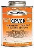 Rectorseal 55956 1/4 Pint 412L Regular Cpvc Solvent Cement