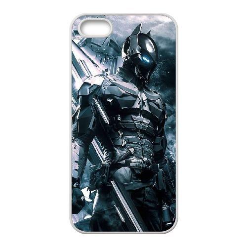 Batman coque iPhone 4 4S Housse Blanc téléphone portable couverture de cas coque EBDOBCKCO10029