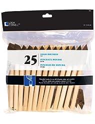 Loew Cornell 842 25-Piece Foam Brush Set, 1-Inch