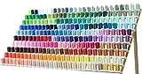 260 Spools Polyester Machine Embroidery Thread Set 40wt for Brother Babylock Janome Singer Pfaff Husqvarna Bernina Machines